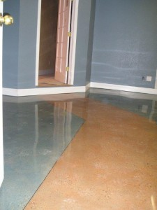 Production Polished Concrete