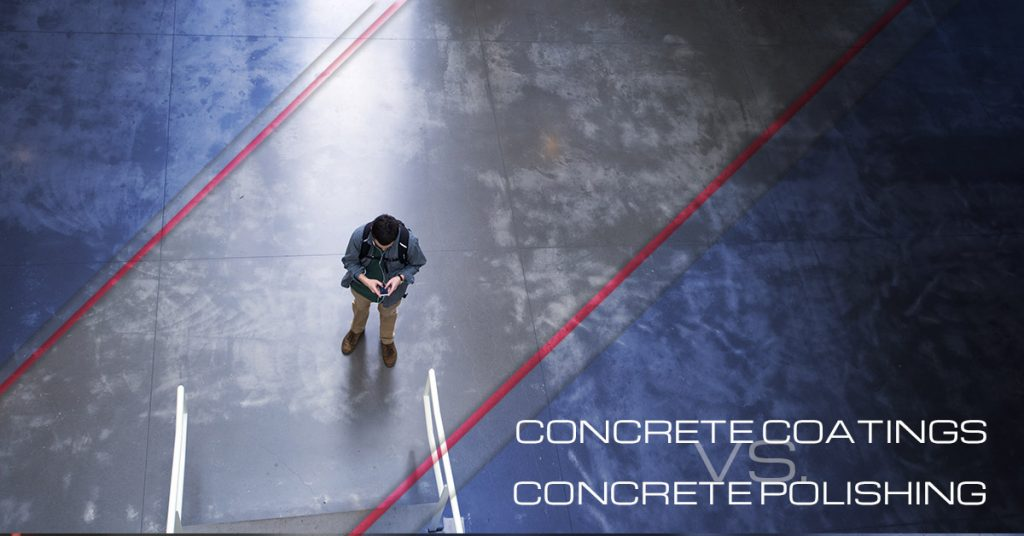 Concrete Coatings Vs  Concrete Polishing - All West Surface Prep