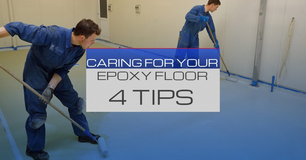 Caring For Your Epoxy Floor 4 Tips All West Surface Prep